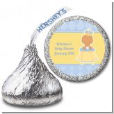 Little Prince Hispanic - Hershey Kiss Baby Shower Sticker Labels