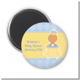 Little Prince Hispanic - Personalized Baby Shower Magnet Favors