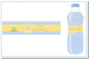 Little Prince - Personalized Birthday Party Water Bottle Labels