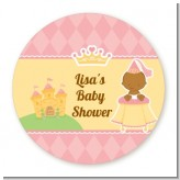 Little Princess African American - Personalized Baby Shower Table Confetti