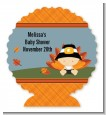 Little Turkey Boy - Personalized Baby Shower Centerpiece Stand thumbnail