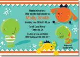 Little Monster - Birthday Party Invitations