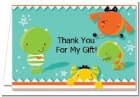 Little Monster - Baby Shower Thank You Cards