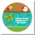 Luau Friends - Personalized Birthday Party Table Confetti thumbnail