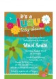 Luau - Baby Shower Petite Invitations thumbnail