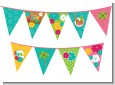 Luau - Baby Shower Themed Pennant Set thumbnail
