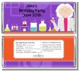 Mad Scientist - Personalized Birthday Party Candy Bar Wrappers thumbnail