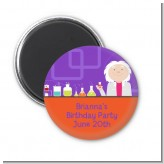 Mad Scientist - Personalized Birthday Party Magnet Favors