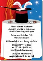 Magic - Birthday Party Invitations