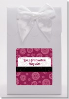 Maroon Floral - Graduation Party Goodie Bags