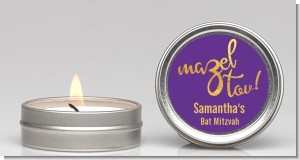 Mazel Tov - Bar / Bat Mitzvah Candle Favors