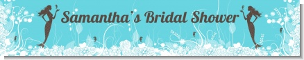 Mermaid - Personalized Bridal Shower Banners