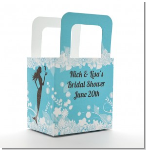 Mermaid - Personalized Bridal Shower Favor Boxes