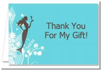 Mermaid - Bridal Shower Thank You Cards