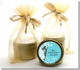 Mermaid - Bridal Shower Gold Tin Candle Favors