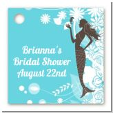 Mermaid - Personalized Bridal Shower Card Stock Favor Tags