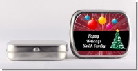 Merry and Bright - Personalized Christmas Mint Tins