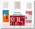 Merry Christmas - Personalized Christmas Hand Sanitizers Favors thumbnail