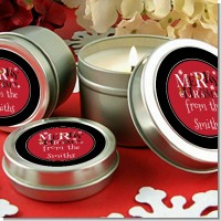 Merry Christmas - Christmas Candle Favors