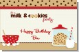 Milk & Cookies - Personalized Birthday Party Placemats thumbnail