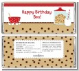 Milk & Cookies - Personalized Birthday Party Candy Bar Wrappers thumbnail