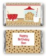 Milk & Cookies - Personalized Birthday Party Mini Candy Bar Wrappers thumbnail