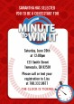 Minute To Win It Inspired - Birthday Party Invitations thumbnail