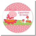 Modern Ladybug Pink - Personalized Birthday Party Table Confetti thumbnail