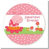 Modern Ladybug Pink - Personalized Birthday Party Table Confetti