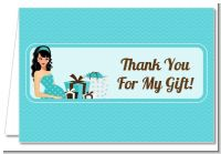 Modern Mommy Crib It's A Boy - Baby Shower Thank You Cards