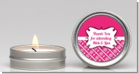 Modern Thatch Fuschia - Candle Favors