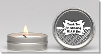 Modern Thatch Grey - Candle Favors