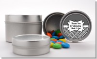 Modern Thatch Grey - Custom Favor Tins
