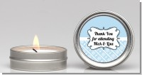 Modern Thatch Light Blue - Candle Favors