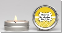 Modern Thatch Yellow - Candle Favors