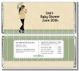 Mod Mom African American - Personalized Baby Shower Candy Bar Wrappers thumbnail