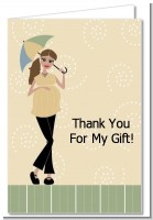 Mod Mom - Baby Shower Thank You Cards