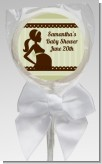 Mommy Silhouette It's a Baby - Personalized Baby Shower Lollipop Favors