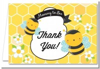 Mommy To Bee - Baby Shower Thank You Cards