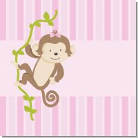 Girl Monkey Baby Shower Theme