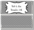 Modern Thatch Grey - Personalized Everyday Party Candy Bar Wrappers thumbnail