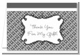 Modern Thatch Grey - Personalized Everyday Party Thank You Cards thumbnail