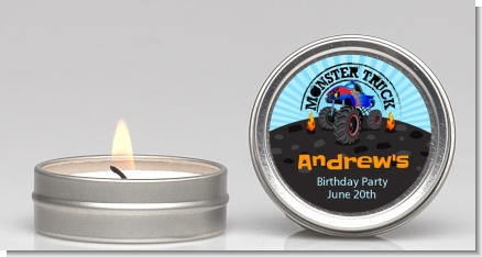 Monster Truck - Birthday Party Candle Favors
