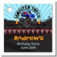 Monster Truck - Personalized Birthday Party Card Stock Favor Tags thumbnail