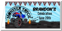 Monster Truck - Personalized Birthday Party Place Cards