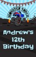 Monster Truck - Personalized Birthday Party Wall Art thumbnail