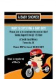 Motorcycle Baby - Baby Shower Petite Invitations thumbnail