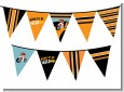 Motorcycle Baby - Baby Shower Themed Pennant Set thumbnail