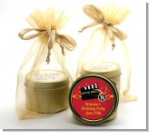 Movie Night - Birthday Party Gold Tin Candle Favors