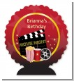 Movie Night - Personalized Birthday Party Centerpiece Stand thumbnail